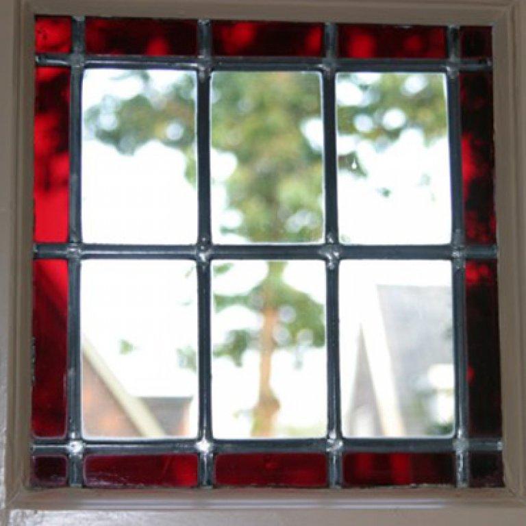Glas-in-lood / gekleurd glas